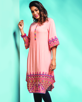 Picture of Embroidered Ethnic Kurti