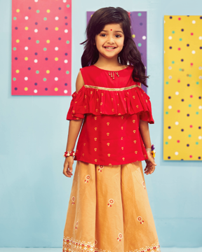 Picture of GIRLS SKIRT TOP (5-6Y)