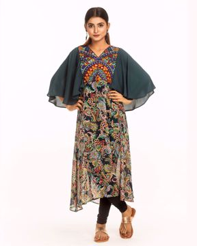 Picture of Flared Fusion Kurtis