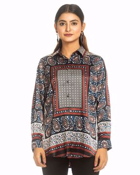 Picture of Fashion Flared Pop Top