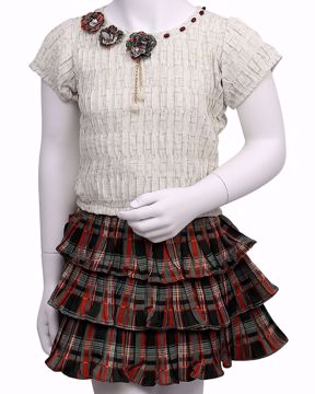 Picture of GIRLS FASHION TOP WITH BOTTOM (IN)