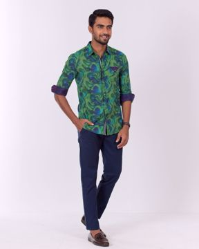 Picture of Abstract Wave Casual Shirt
