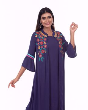 Picture of Koti with Ethnic Kurti