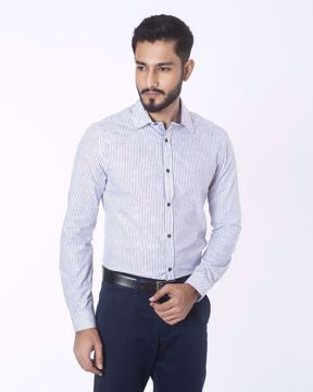 Picture of Striped Smart Casual Shirt
