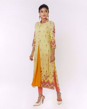 Picture of A-line Ethnic Kurti