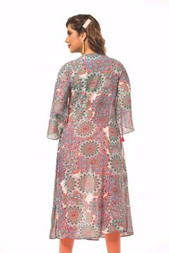 Picture of Pin tuck Flared Kurtis