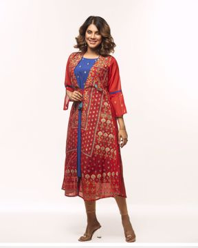 Picture of Womens Kurti with Koti