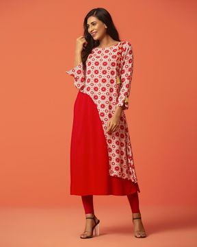 Picture of A-line pattern kurti