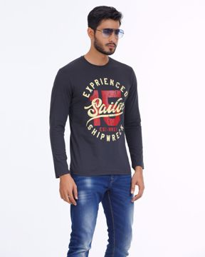 Picture of Mens Shipwreck Winter T-shirt