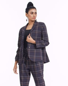 Picture of Womens Woven Blazer