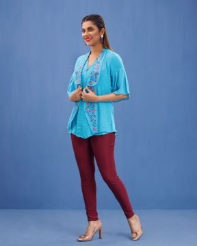 Picture of Womens Fashion Short Tops