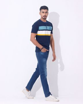Picture of Men's Knit Henley Shirt