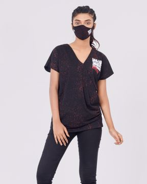 Picture of WOMENS KNIT T-SHIRT WITH MASK