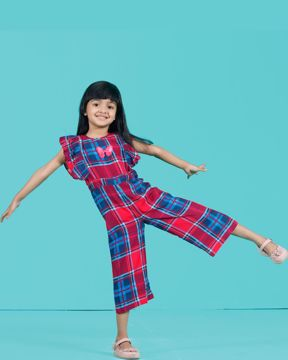 Picture of GIRLS WOVEN JUMP SUIT