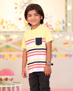 Picture of Boys Knit Henley Shirt