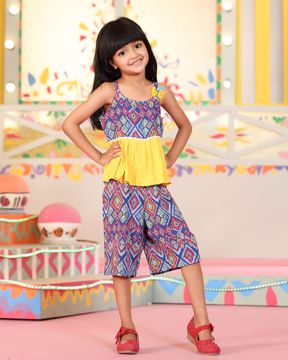 Picture of Girls Woven Jump Suit (3-6 Years)