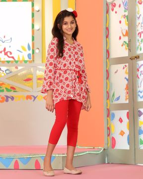 Picture of Girls Woven Long Tops(11-14 Years)