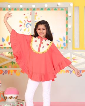 Picture of Girls Woven Cape (11-14 Years)
