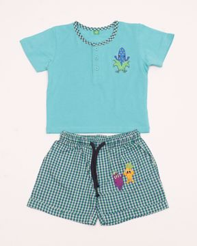 Picture of NEWBORN BOYS KNIT T-SHIRT WITH PANT