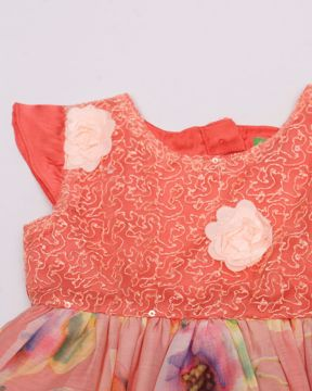 Picture of Newborn Girls Party Dress (3 M - 6 M)