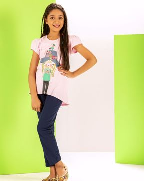Picture of Girls Knit T-shirt (7-10 Years)