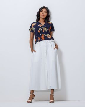 Picture of Womens Knit  Fashion  Skirt