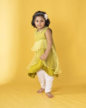 Picture of Girls Woven  Party Dress (3-6 Years)