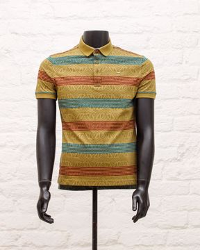 Picture of Men's Knit Fashion Polo