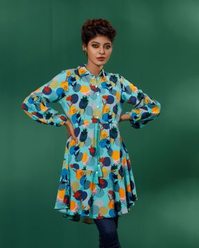 Picture of Womens Round Flared Top