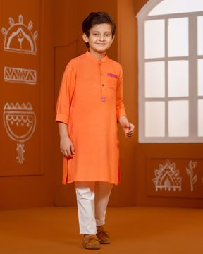 Picture of Boys Fusion Kurta (7-10 Years)