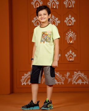 Picture of Boys Fusion Kurta(3-6 Years)