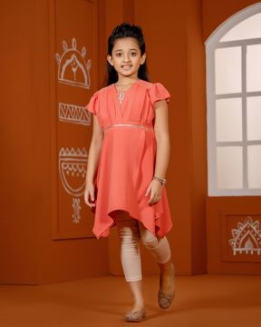 Picture of Girls Woven Kurtis (7-10 Years)