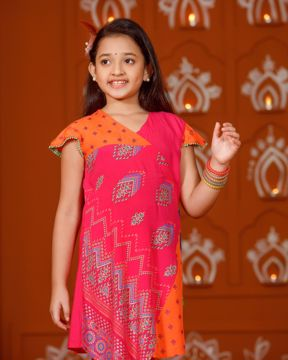 Picture of Girls Woven Kurtis (3-6 Years)