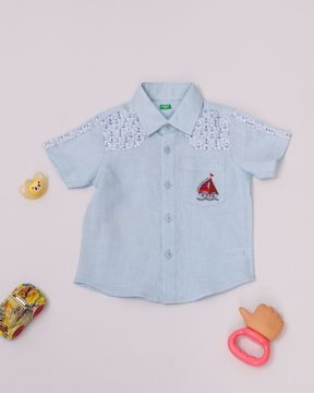 Picture of Newborn Boys Casual Shirt (3-6 Months)