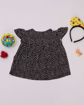 Picture of Newborn Girls Knit Frock (3-6 Months)