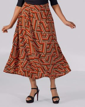 Picture of Womens Pleated Skirt