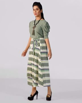 Picture of Womens Wrap Fashion Skirt