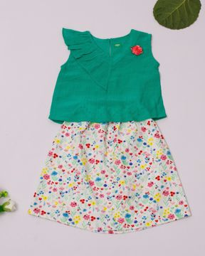 Picture of Newborn Girl's Woven Skirt Top (3-6 Months)